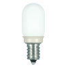 This item: SATCO Coated White LED T6 Candelabra 0.8 Watt Sign and Indicator Bulb with 2700K 25 Lumens 80 CRI and 360 Degrees Beam