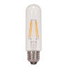 This item: SATCO Clear LED T10 Medium 4.5 Watt LED Filament Bulb with 2700K 430 Lumens 80 CRI and 360 Degrees Beam