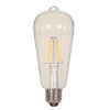 This item: SATCO Clear LED ST19 Medium 6.5 Watt LED Filament Bulb with 2700K 810 Lumens 80 CRI and 360 Degrees Beam