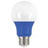 This item: SATCO Blue LED A19 Medium 2 Watt Type A Bulb with K 200 Lumens 80 CRI and 220 Degrees Beam