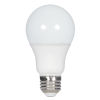 This item: SATCO Frosted White LED A19 Medium 10 Watt Type A Bulb with 2700K 800 Lumens 90+ CRI and 220 Degrees Beam