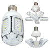 This item: SATCO LED Medium LED 30 Watt HID Replacements Bulb with 2700K 3660 Lumens 83 CRI and 360 Degrees Beam