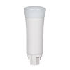 This item: SATCO Frosted LED PL G24d 9 Watt LED CFL Replacements Pin Based Bulb with 5000K 900 Lumens 82 CRI and 120 Degrees Beam