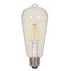 This item: SATCO Clear LED ST19 Medium 6.5 Watt LED Filament Bulb with 3000K 810 Lumens 80 CRI and 360 Degrees Beam
