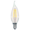 This item: SATCO Clear LED CA11 Candelabra 5.5 Watt LED Filament Bulb with 3000K 500 Lumens 80 CRI and 360 Degrees Beam