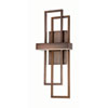 This item: Frame Hazel Bronze One-Light LED Wall Sconce w/ Frosted Glass