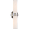 This item: Bond Brushed Nickel 18-Inch LED Vanity