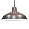 This item: Old Bronze One-Light Dome Pendant with Warehouse Shade