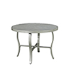 This item: South Beach 7 Piece Round Outdoor Dining Table with 2 Swivel Rocking Chairs, 2 Arm Chairs, and Umbrella with Base
