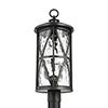 This item: Millbrooke Antique Bronze Three-Light Outdoor Post Lantern