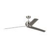 This item: Arcade Brushed Steel 68-Inch Ceiling Fan
