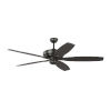 This item: Dover Oil Rubbed Bronze 60-Inch Ceiling Fan