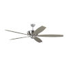 This item: Dover Brushed Steel 68-Inch Ceiling Fan