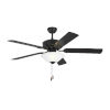 This item: Haven II Matte Black 52-Inch LED Ceiling Fan