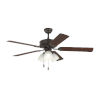 This item: Haven Bronze 52-Inch LED Ceiling Fan
