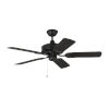 This item: Haven Matte Black 44-Inch Outdoor Ceiling Fan
