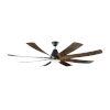 This item: Kingston Matte Black 72-Inch LED Ceiling Fan