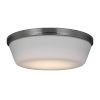 This item: Dover Brushed Steel 11-Inch LED Fan Light Kit