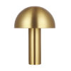 This item: Cotra Burnished Brass One-Light Table Lamp