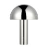 This item: Cotra Polished Nickel One-Light Table Lamp