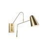 This item: Simon Burnished Brass Five-Inch One-Light Wall Sconce