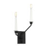 This item: Hopton Midnight Black Two-Light Title 24 Right Double Bath Sconce