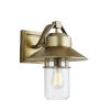 This item: Boynton Painted Distressed Brass 13-Inch One-Light Outdoor Wall Lantern