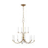 This item: Westerly Antique Gold 29-Inch 12-Light Chandelier