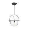 This item: Nuance Aged Iron 18-Inch One-Light Pendant