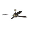 This item: Metrograph Deep Bronze with Brass 56-Inch LED Ceiling Fan