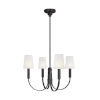 This item: Logan Aged Iron 26-Inch Four-Light Chandelier