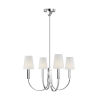 This item: Logan Polished Nickel 26-Inch Four-Light Chandelier
