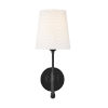This item: Capri Aged Iron Six-Inch One-Light Wall Sconce