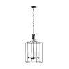 This item: Bantry House Smith Steel 17-Inch Four-Light Title 24 Pendant