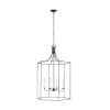 This item: Bantry House Smith Steel 24-Inch Four-Light Title 24 Pendant