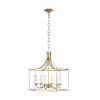This item: Bantry House Antique Gild Six-Light Title 24 Chandelier