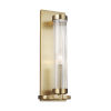 This item: Demi Burnished Brass Five-Inch-Inch One-Light Bath Sconce
