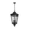 This item: Cotswold Lane Black 31-Inch Four-Light Hanging Lantern