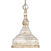 This item: Keating Antique Ivory One-Light Mini Pendant