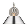 This item: Orwell Pewter 10-Inch One-Light Wall Sconce with Chrome Shade