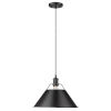 This item: Orwell Matte Black 14-Inch One-Light Pendant