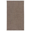 This item: Brontide Madaket Striped Taupe and Gray Indoor/Outdoor 7 Ft. 6 In. x 9 Ft. 6 In. Area Rug