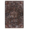 This item: Zefira Amena Medallion Black and Dark Taupe 10 Ft. x 14 Ft. Area Rug