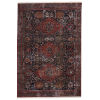 This item: Zefira Razia Medallion Navy and Red 8 Ft. x 10 Ft. 6 In. Area Rug