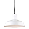 This item: Warehouse White 14-Inch Steel Pendant