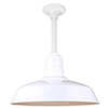 This item: Warehouse White 16-Inch Pendant with 12-Inch Downrod