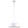 This item: Warehouse White 17-Inch Aluminum Pendant with 36-Inch Downrod