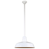 This item: Warehouse White 18-Inch Pendant with 36-Inch Downrod
