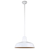 This item: Warehouse White 18-Inch Aluminum Pendant with 36-Inch Downrod