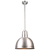 This item: Warehouse Galvanized 12-Inch Aluminum Pendant with 36-Inch Downrod